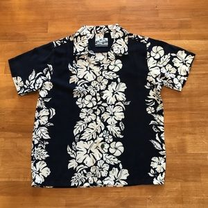 Pineapple Connection Classic Hawaiian Floral Shirt